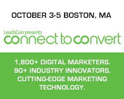 Leadscon Connect to Convert 2018 - October 3-5 Boston, MA